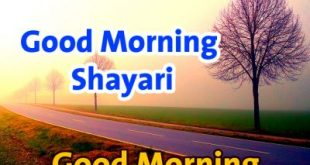 Good Morning Shayari Romantic