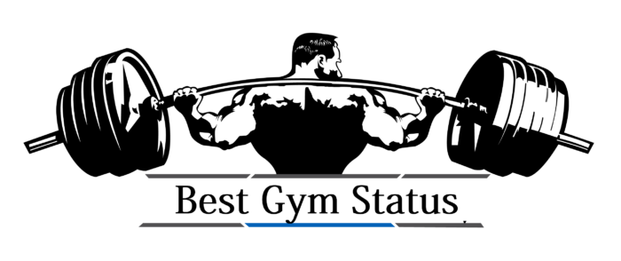 gym workout attitude status in hindi